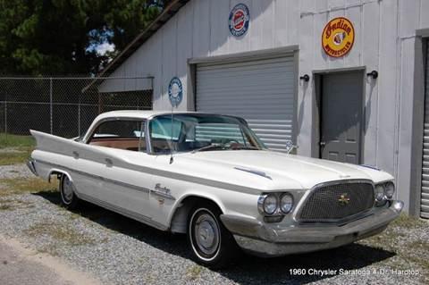 1960 Chrysler Saratoga 4-Dr. Hardtop for sale in Saint Simons Island, GA