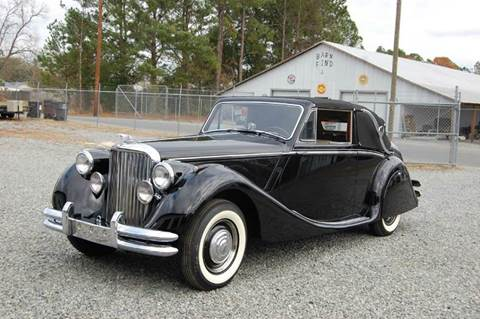 1951 Jaguar Mark V Drophead Coupe