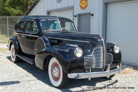 1940 Buick Limited Series 80 Formal Sedan for sale in Saint Simons Island, GA