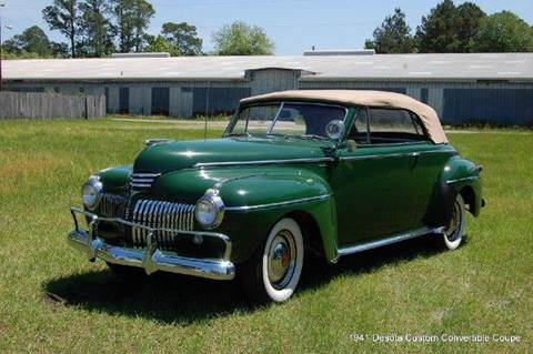 1941 Desoto Custom Convertible Coupe for sale in Saint Simons Island, GA