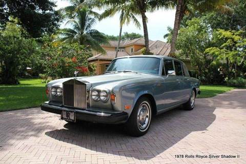 1978 Rolls-Royce Silver Shadow for sale in Saint Simons Island, GA