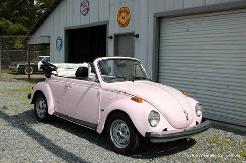 1979 Volkswagen Beetle Convertible for sale in Saint Simons Island, GA