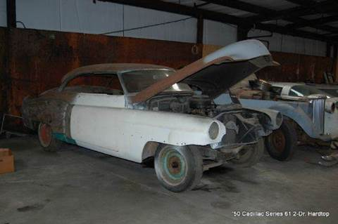 1950 Cadillac Series 61 Hardtop Project for sale in Saint Simons Island, GA