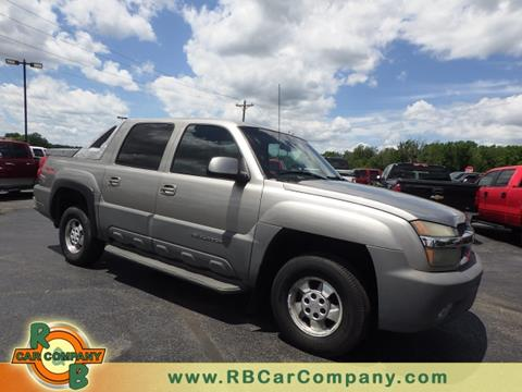 2002 Chevrolet Avalanche for sale in Columbia City, IN