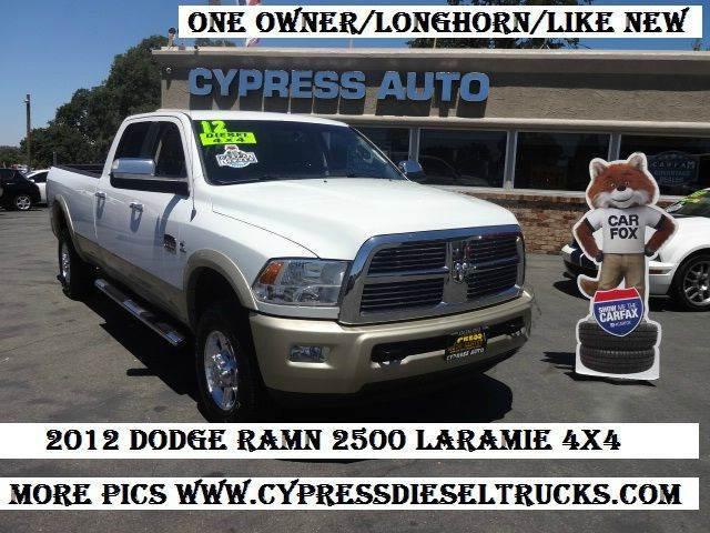 2012 RAM Ram Pickup 2500