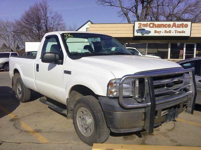 2006 ford f 250 super duty xl 2dr regular cab 4wd lb in sioux falls sd second chance auto. Black Bedroom Furniture Sets. Home Design Ideas