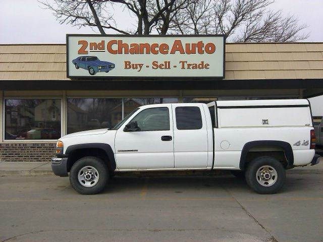 2007 gmc sierra 2500hd classic work truck 4dr extended cab for Wheel city motors sioux falls sd