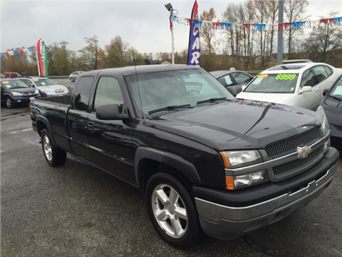 2005 Chevrolet Silverado 1500 for sale in Puyallup, WA