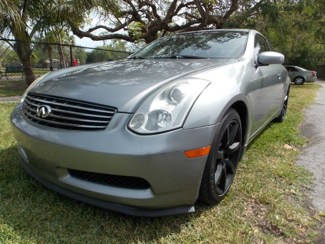 2007 INFINITI G35 COUPE gray 100 clean carfax leather dual heated seats dual control ac sunro