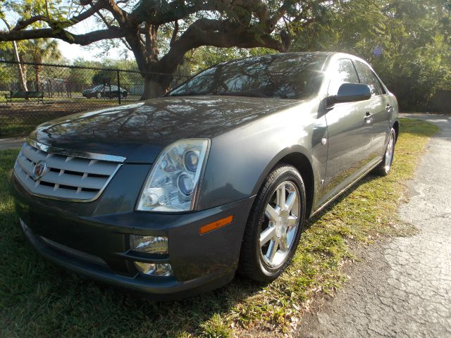 2007 CADILLAC STS V8 blue only 2 owners 100 clean carfax  v8 navigation leather sunroof dua