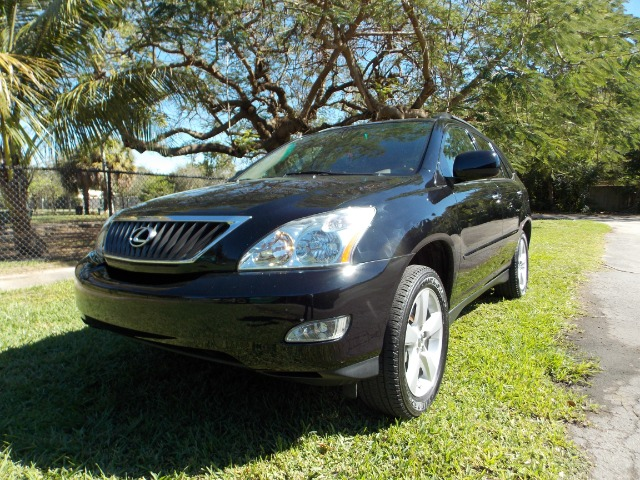 2008 LEXUS RX 350 FWD black 100 clean carfax leather sunroof memory seats dual control ac bu