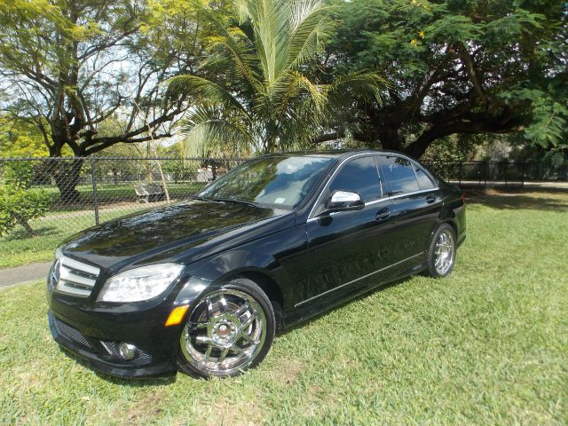 2008 MERCEDES-BENZ C-CLASS C300 SPORT SEDAN black only 2 owners 100 clean carfax navigation ha