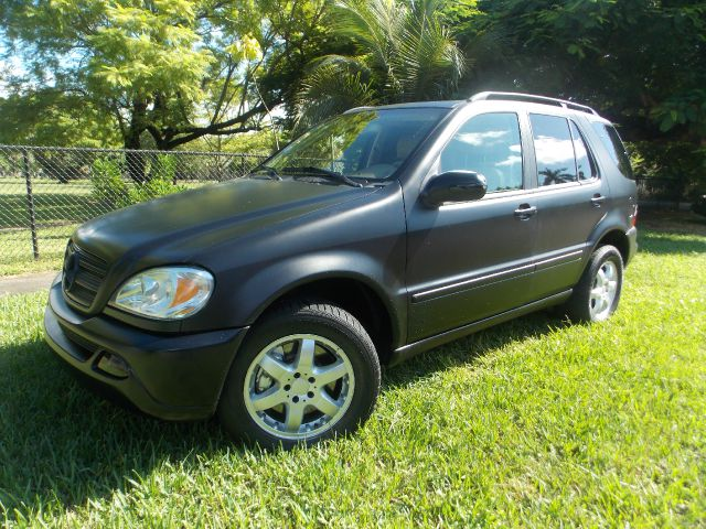 2004 MERCEDES-BENZ M-CLASS ML500 black no accidents leather sunroof memory seats bose sound d