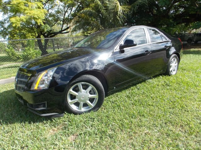 2008 CADILLAC CTS 36L SFI black only 2 owners no accidents leather sunroof memory seats bose