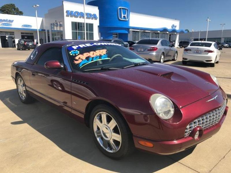 Used 2004 ford thunderbird for sale in texas for Barclay motors arlington tx