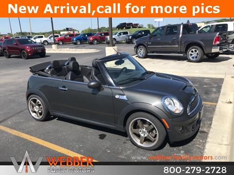 2012 MINI Cooper Convertible for sale in Detroit Lakes MN
