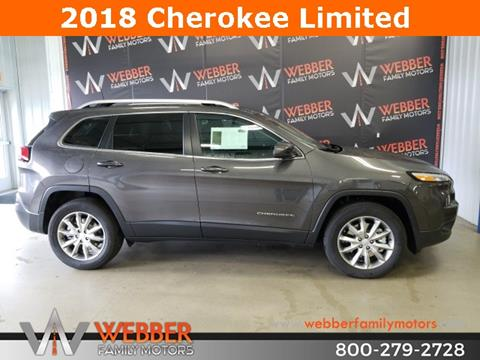 2018 Jeep Cherokee for sale in Detroit Lakes, MN