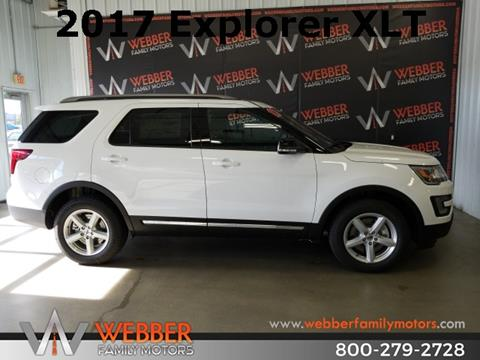 2017 Ford Explorer for sale in Detroit Lakes MN