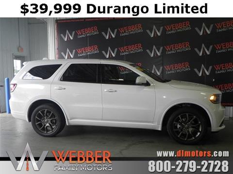 2016 Dodge Durango for sale in Detroit Lakes, MN
