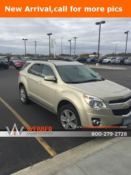2012 Chevrolet Equinox for sale in Detroit Lakes MN