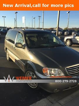 2003 Kia Sedona for sale in Detroit Lakes, MN