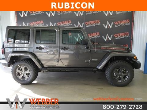 2017 Jeep Wrangler Unlimited for sale in Detroit Lakes, MN