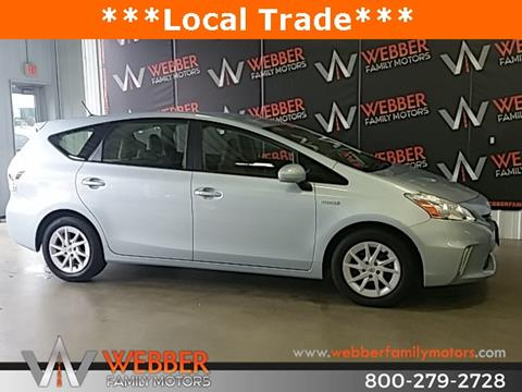 2013 Toyota Prius v for sale in Detroit Lakes MN