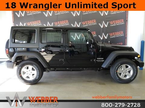 2018 Jeep Wrangler Unlimited for sale in Detroit Lakes, MN