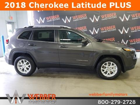 2018 Jeep Cherokee for sale in Detroit Lakes MN