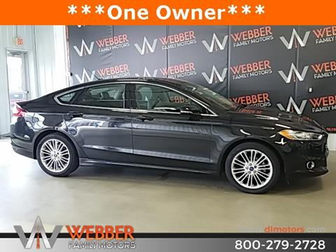 2015 Ford Fusion for sale in Detroit Lakes, MN