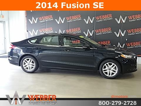 2014 Ford Fusion for sale in Detroit Lakes MN