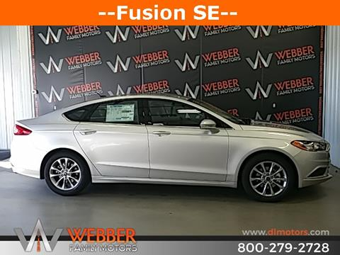 2017 Ford Fusion for sale in Detroit Lakes, MN