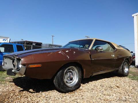 1973 AMC AMX for sale in Forney, TX