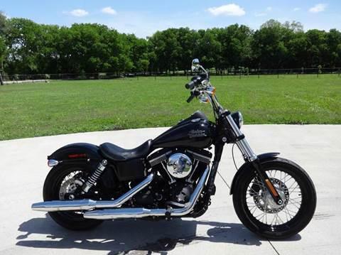 2013 Harley-Davidson FXDB Dyna Street Bob for sale in Forney, TX