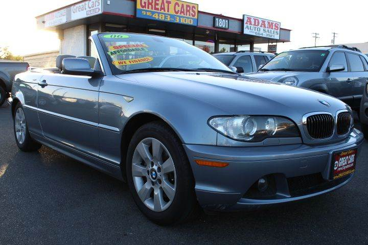 Bmw Series Ci Dr Convertible In Sacramento CA Great Cars - 2006 bmw 325ci convertible