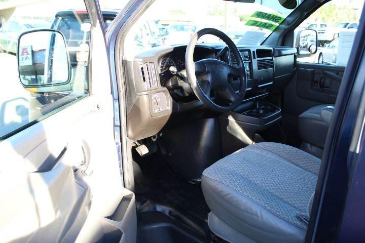 2006 GMC Savana Cargo 2500 3dr Van - Sacramento CA