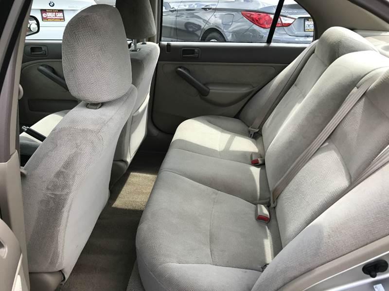 2001 Honda Civic LX 4dr Sedan - Sacramento CA