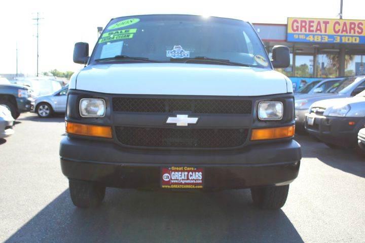 2008 Chevrolet Express Cargo 3500 3dr Cargo Van - Sacramento CA