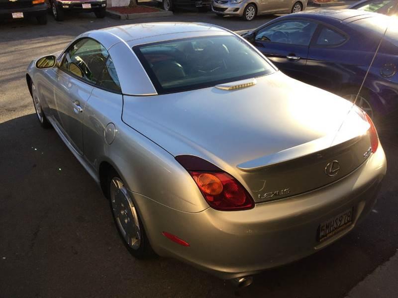 2003 Lexus SC 430 2dr Convertible - Sacramento CA