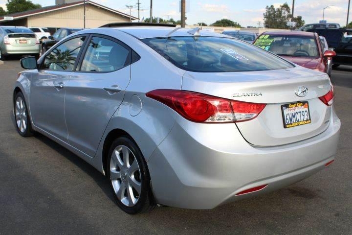 2012 Hyundai Elantra Limited 4dr Sedan - Sacramento CA