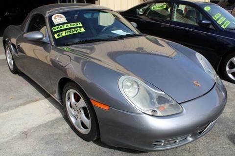 2001 Porsche Boxster for sale in Sacramento, CA