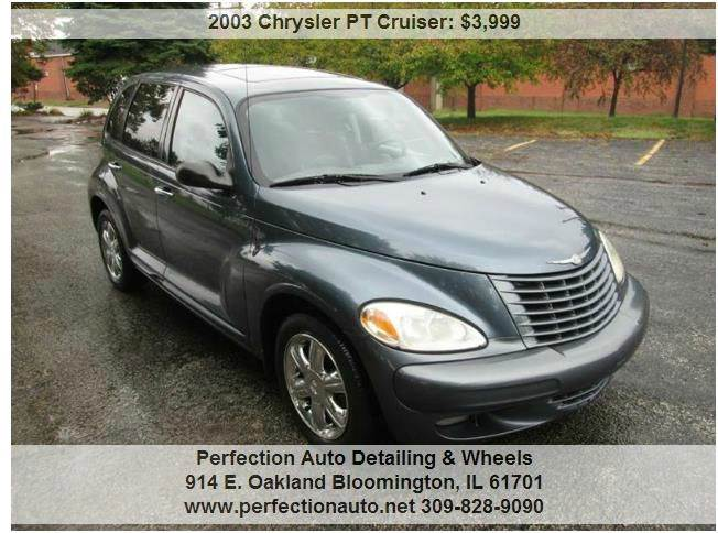 chrysler pt cruiser for sale in bloomington il. Black Bedroom Furniture Sets. Home Design Ideas