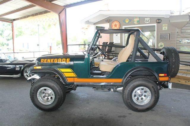 1977 jeep cj 5 renegade in mount pleasant sc coastal. Black Bedroom Furniture Sets. Home Design Ideas