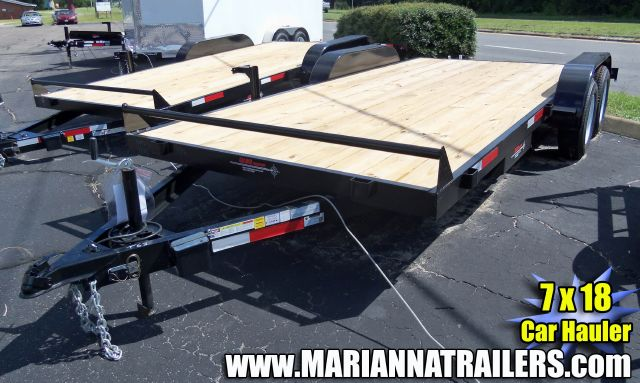 2013 Caliber 7 x 18 Car Hauler