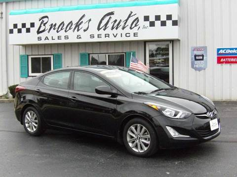 2015 Hyundai Elantra for sale in Manitowoc, WI