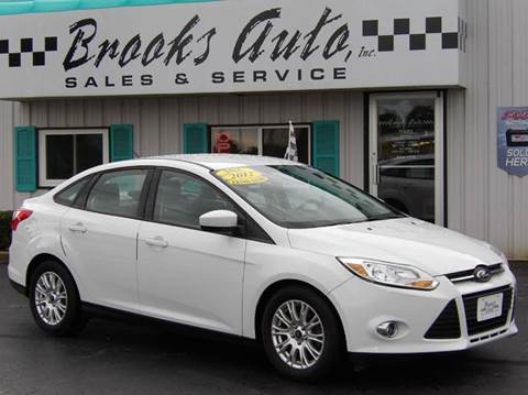 2012 Ford Focus for sale in Manitowoc WI