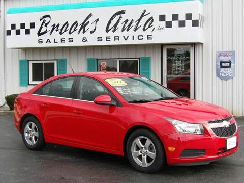 2014 Chevrolet Cruze for sale in Manitowoc, WI