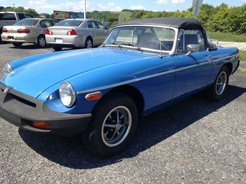 1977 MG MGB for sale in Kutztown, PA