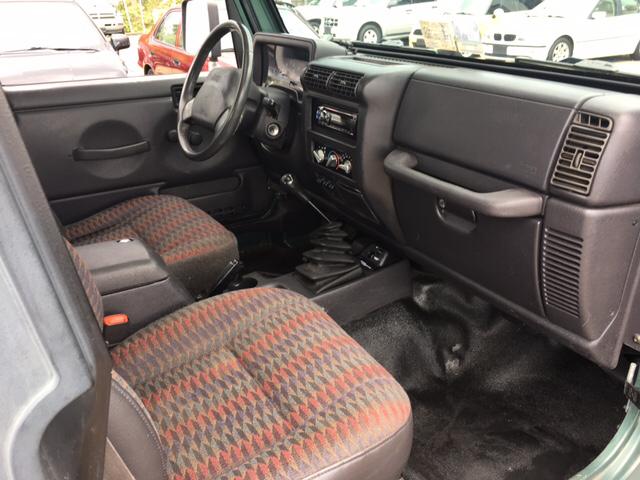 2000 Jeep Wrangler Sport 2dr 4WD SUV - Richmond VA