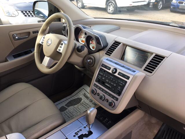 2006 Nissan Murano SL AWD 4dr SUV - Richmond VA